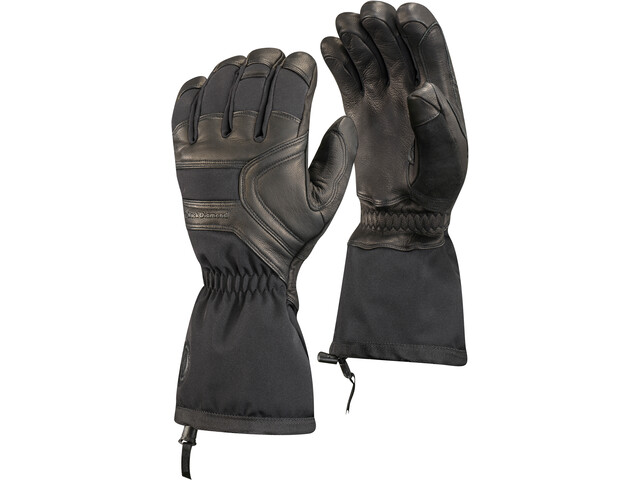 Black Diamond Crew Gloves, black